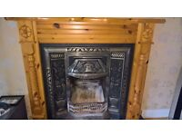 cast iron fire place £190 ono