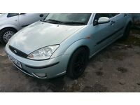 ford focus 5 door year 2003,alloy wheels,perfect work horse,cheap cheap