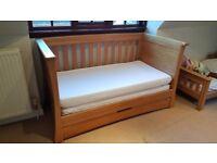 Mamas and Papas Ocean Solid Oak Nursery Furniture Set