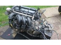 ford fiesta 1.4 petrol engine, gearbox and clutch