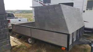 6.5 by 10 utility trailer