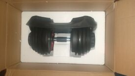 Adjustable dumbells 24 kg single or pair available