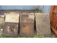 14 Concrete Paving slabs