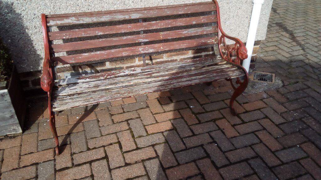Old Garden Bench Seat In Westhill Aberdeenshire Gumtree