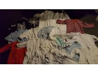 105 items baby clothes, 0-3 months& full body pregnancy pillow
