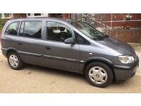 VAUXHALL ZAFIRA 1.6 FOR £600 (PRICE IS NEGOTIABLE!) VERY LOW MILEAGE 49344