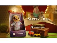 Compare the Market - Sleepy Oleg - Limited Editions - Soft Toy Plush