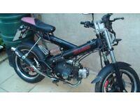Sachs Madass 72cc Geared 4-stroke Motorbike