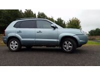 SOLD -other cars available- 2007 Hyundai Tucson Limited 4X4 2.0L Diesel 5 Door Top spec