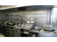 A3 Hot food Takeaway for sale , currently Indian takeaway in Barry town centre, long lease avail.