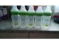 Born free baby bottles