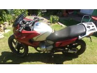 honda varadero xl125 unknown mileage and no mot so being sold as spares or repair