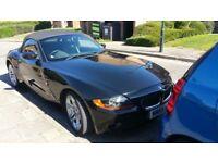 2005 (Reg-55) BMW Z4 CONVERTIBLE, MANUAL PETROL GOOD CONDITION