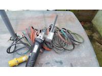 Dynabrade 40610 Electric Dynafile belt sander, 110v,good condition