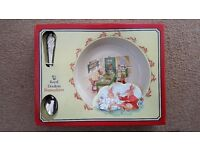 Royal Doulton Bunnykins Boxed Nursery Set and Christening Mug