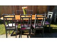 Gorgeous Summer Dining Table And 6 Chairs