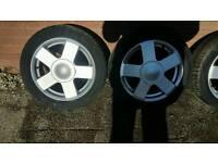 "Ford 15"" 4x108 alloy whells"