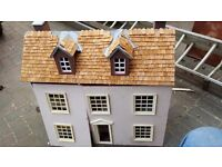 2 X Dolls houses in need of TLC