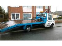 Ford transit beavertail recovery truck