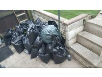 *FREE* Roughly 30 bags of earth