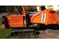 Timberwolf TW150 FTR Tracked Wood Chipper