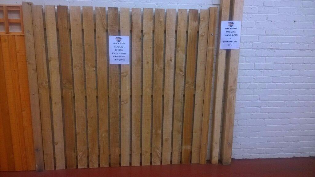Individual Fence Slats