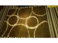 Shaggy rug 120by160cm