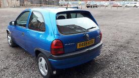 Vauxhall Corsa 2000 1.4cc sport 103.000 mileage