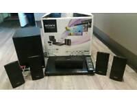 Sony blu ray/DVD surround sound system.