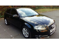 2012 Audi A3 2.0 TDI -S TRONIC WITH PADDLE SHIFT- 37000 Miles-1 YEAR MOT