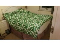 4ft small double bed. 4 x built in reinforced drawers with unsoiled mattress