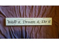 New Chic Wall Plaque