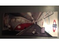 London tube camper can canvas