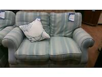 2seater laura ashley duck egg blue sofa
