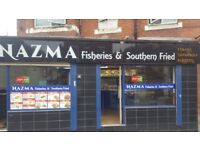 Fish and chips take away running business for sale