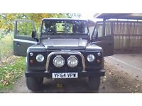 LAND ROVER DEFENDER 90 COUNTY HARD TOP 2005
