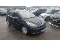 PEUGEOT 207 1.6HDI SE 5DR DIESEL++12 MONTH MOT++PAN-ROOF++1 OWNER FROM NEW++FULLY SERVICED++CHEAP!