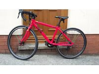 Childrens Frog 67 road bike red 24 inch wheels