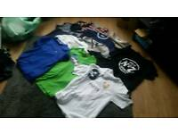 Men/boys T shirts and jumpers