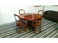 Dining Table With 4 Chairs in very excellent Mint Clean Condition