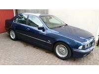 2000 BMW E39 528 Manual in Excellent Condition. FSH.Interior mint. Enthusiast owned