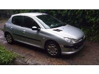 """Peugeot 206 1.4 2005 55 Reg Five Doors Runs And Drives Excellent """"£425"""""""