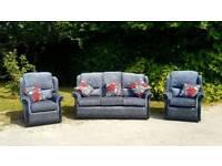 new fabric 3+1+1 suite sofa