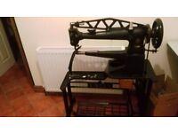 Singer Patchier cobbler leather sewing machine walking foot 29k71
