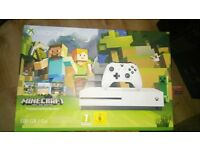 Swap - Xbox One S Minecraft Bundle with 4 Games and Kinect + Kinect Adapter