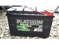 Platinum Leisure Plus Caravan/Motorhome Battery 110ah