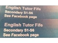 English Tutor Fife for Secondary S1-S6