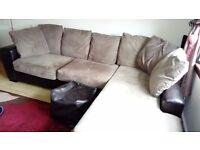Lovely corner suite for free.