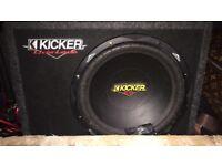 Kicker sub and kicker box's