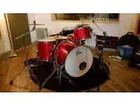 Gretsch Catalina Club Rock Drum Kit with Sabian AAX Cymbals